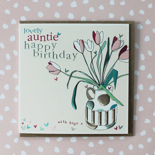 Auntie Birthday card - Daisy Park