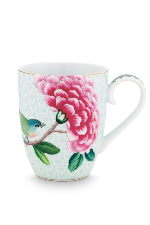 Pip Studio Blushing Birds large white mug - Daisy Park