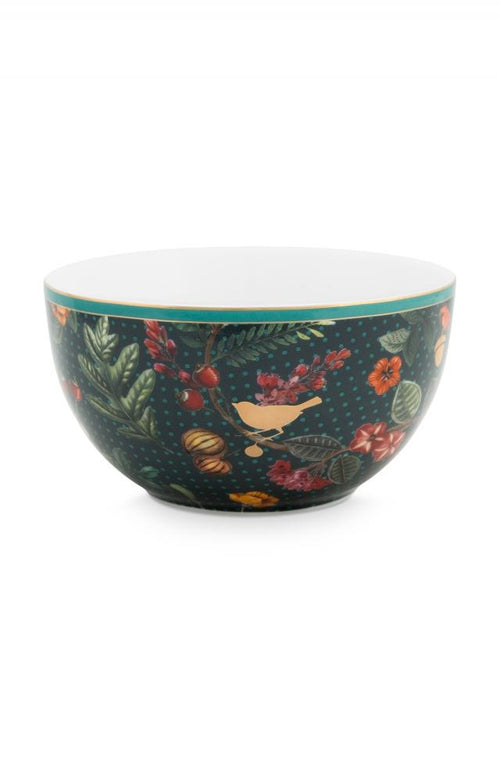 Pip Studio Winter Wonderland green 12cm bowl - Daisy Park