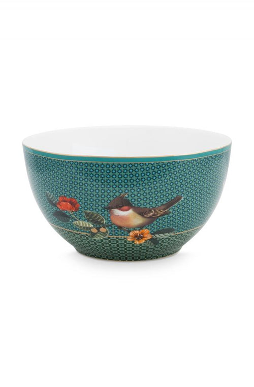 Pip Studio Winter Wonderland green 9.5cm bowl - Daisy Park