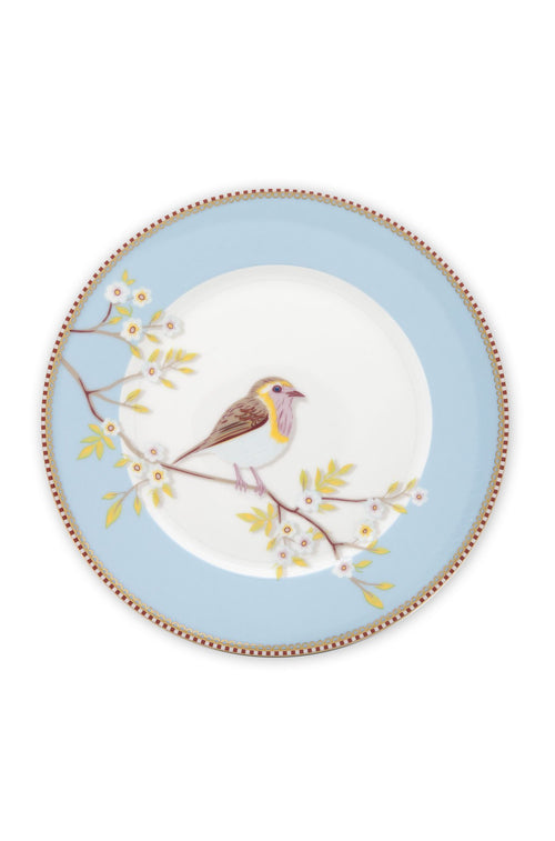 Pip Studio 21cm Blue Bird plate