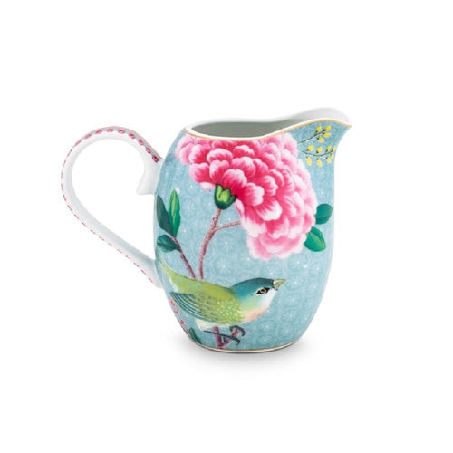 Pip Studio Blushing Birds blue small milk jug - Daisy Park