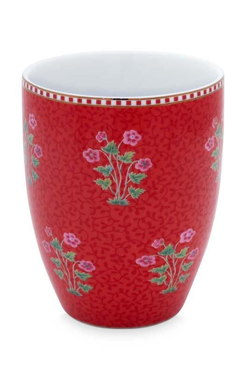Pip Studio Good Morning red drinking beaker - Daisy Park