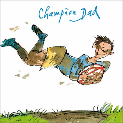 Champion Dad card - Daisy Park