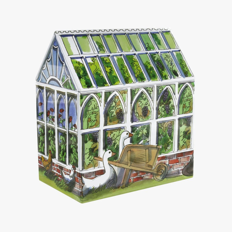Emma Bridgewater Greenhouse medium House tin - Daisy Park
