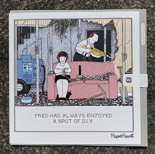 Fred - DIY card - Daisy Park