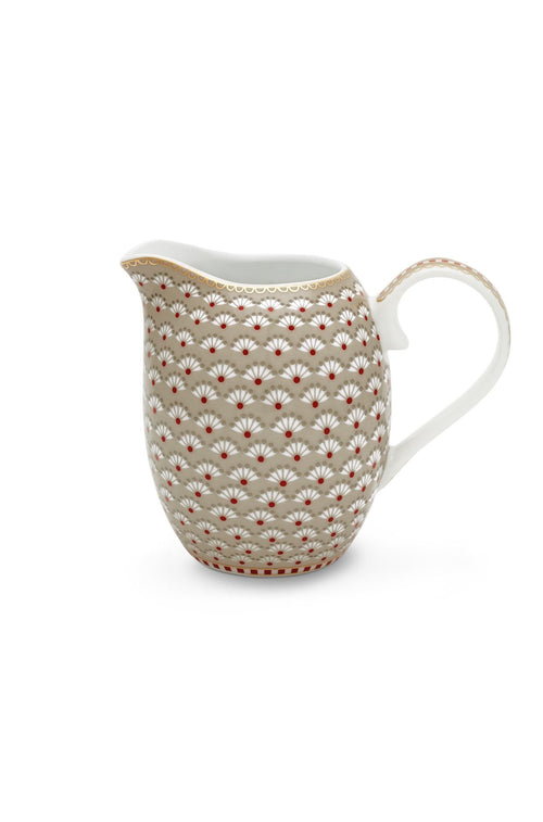 Pip Studio Floral jug small Bloomingtails khaki - Daisy Park