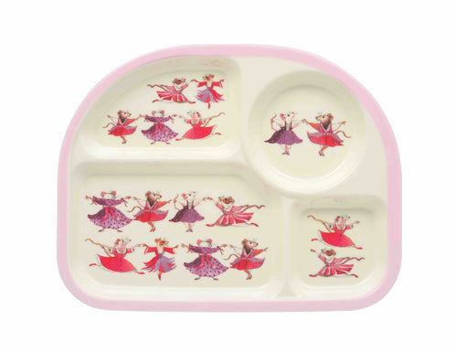 Emma Bridgewater Dancing mice kids eat tray - Daisy Park