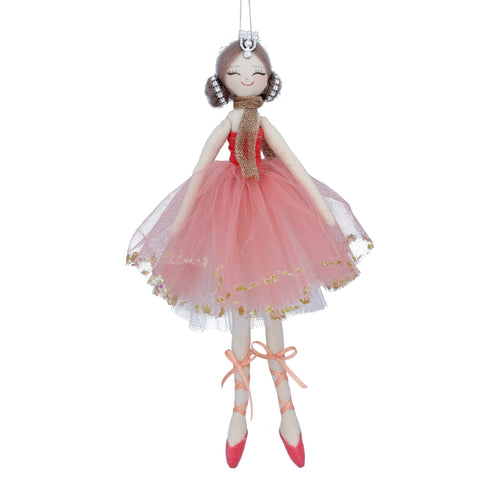Gisela Graham Pink Ballerina Decoration Large - Daisy Park