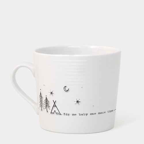 East of India 'Sip me baby one more time' boxed mug - Daisy Park