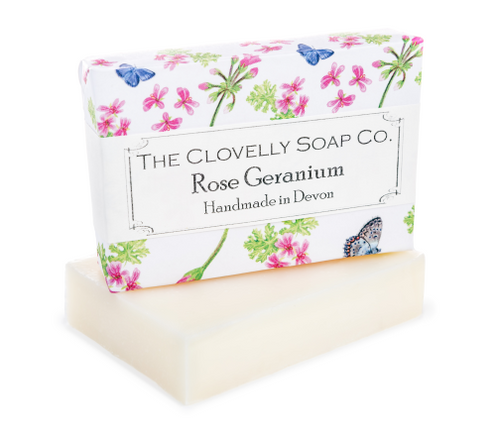 Clovelly soap Rose Geranium - Daisy Park