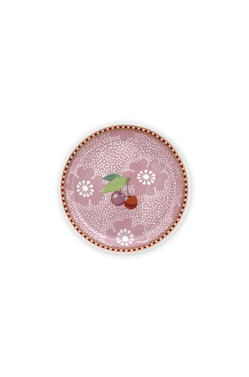 Pip Studio Floral tea tip dotted flower pink - Daisy Park