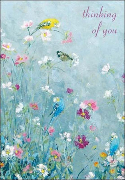 Thinking of you birds card - Daisy Park