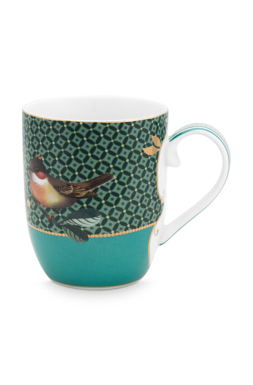 Pip Studio Winter Wonderland Bird small green mug - Daisy Park