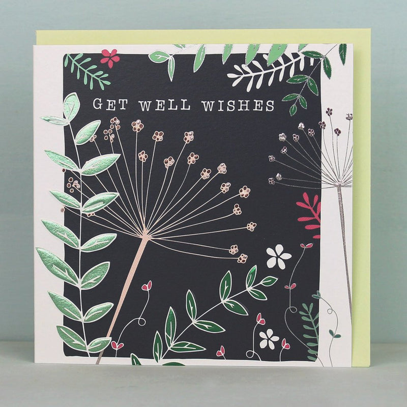 Get well wishes card - Daisy Park