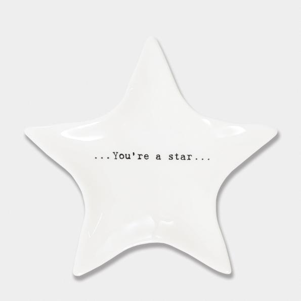 You're a star wobbly star dish