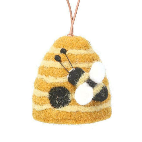 Wool Beehive decoration - Daisy Park