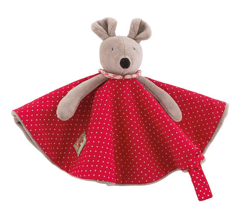 Moulin Roty Nini the mouse comforter - Daisy Park