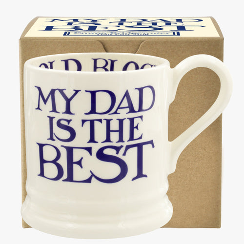 Emma Bridgewater My Dad is the best 1/2 pt mug - Daisy Park