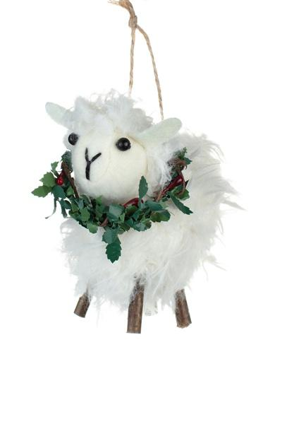 Sheep with a Wreath - Daisy Park