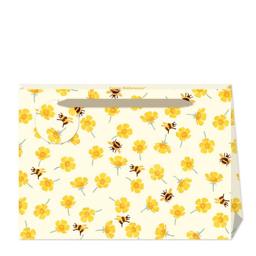 Emma Bridgewater Buttercup and bees shopper gift bag - Daisy Park