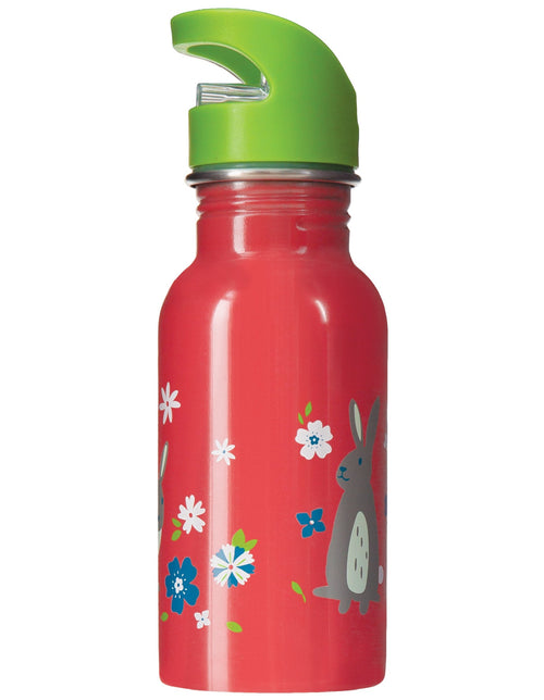 Frugi Bunny Splish Splash steel bottle - Daisy Park