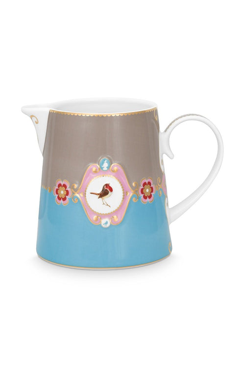Pip Studios Love Bird blue small jug