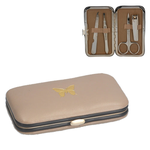 Gold Butterfly manicure set