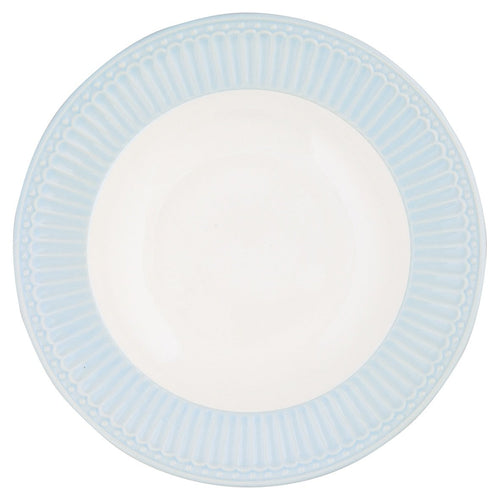 Greengate pale blue Alice dinner plate