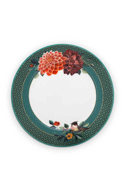 Pip Studio Winter Wonderland Big flower 21cm plate - Daisy Park