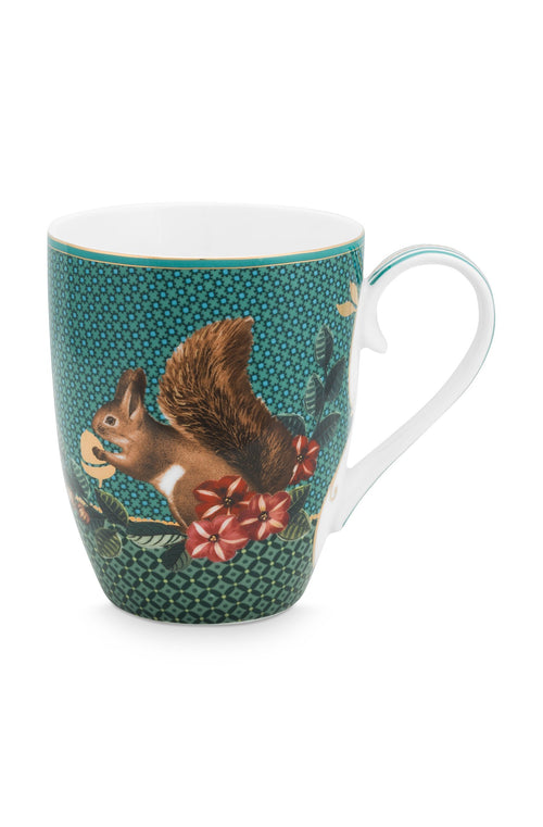Pip Studio Winter Wonderland Squirrel large mug - Daisy Park