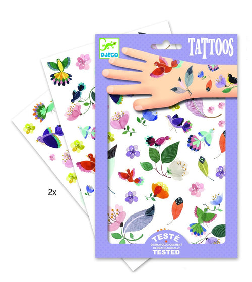 Djeco In Flight tattoos - Daisy Park
