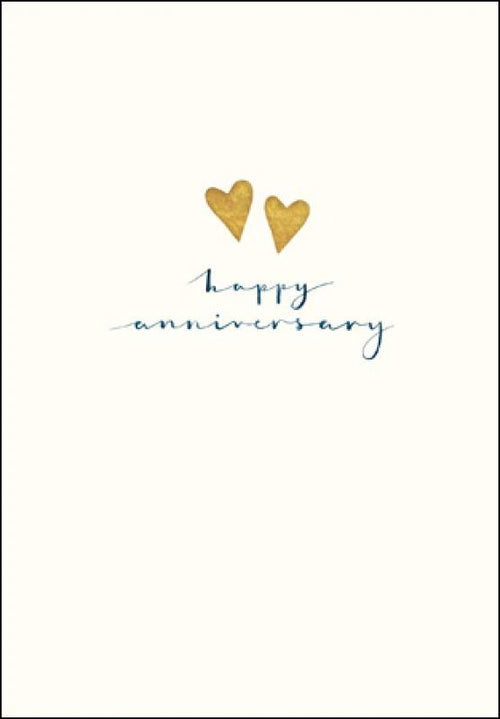 Happy heart anniversary card - Daisy Park