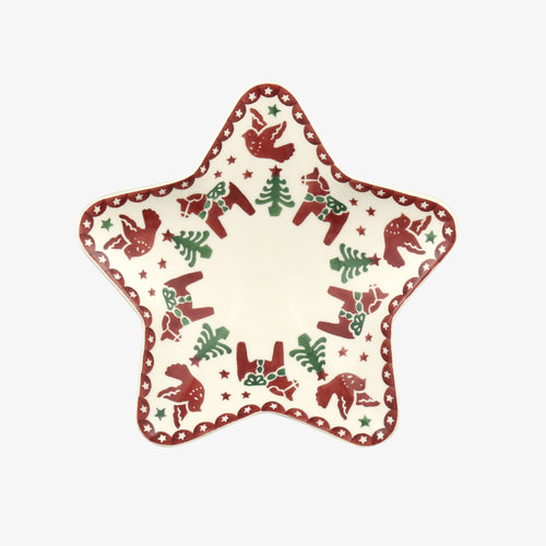 Emma Bridgewater Christmas Joy Small Star Plate - Daisy Park