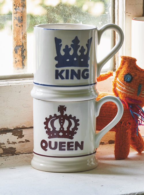 Emma Bridgewater The King 1/2pt mug