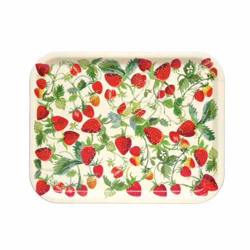 Emma Bridgewater Strawberries birch rectangular tray - Daisy Park