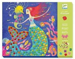 Djeco Mosaic Set - The Mermaid Song - Daisy Park