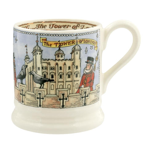 Emma Bridgewater Tower of London 1/2pt mug - Daisy Park