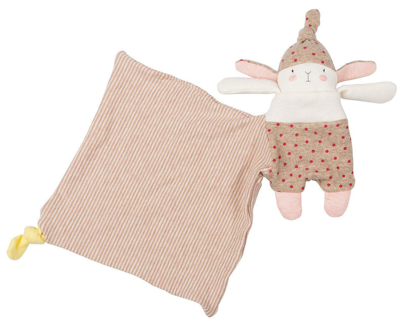 Moulin Roty Lulu the little rabbit comforter - Daisy Park