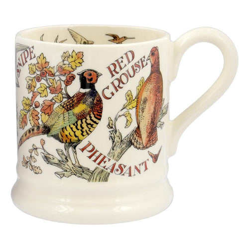 Emma Bridgewater Game Bird Red Grouse 1/2pt mug