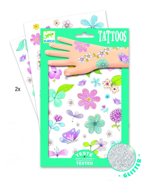 Djeco Fair Flowers of the field tattoos - Daisy Park