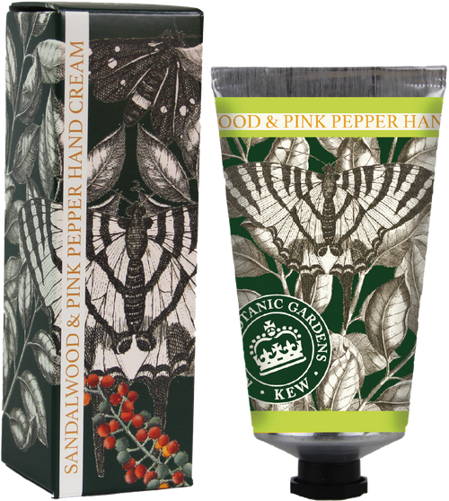 Kew Gardens Sandalwood and Pink Pepper hand cream - Daisy Park