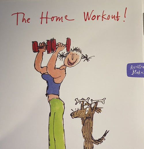 The Home workout card - Daisy Park
