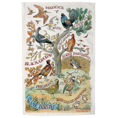 Emma Bridgewater Game Bird tea towel - Daisy Park