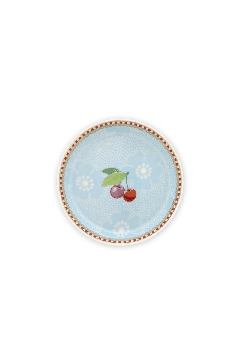 Pip Studio Floral tea tip dotted flower blue - Daisy Park