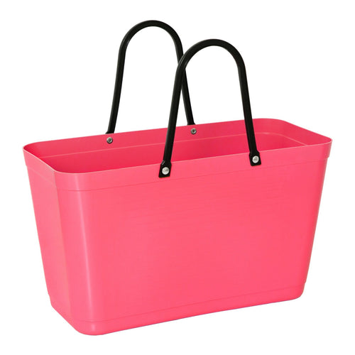 Hinza bag large green plastic - Tropical pink - Daisy Park