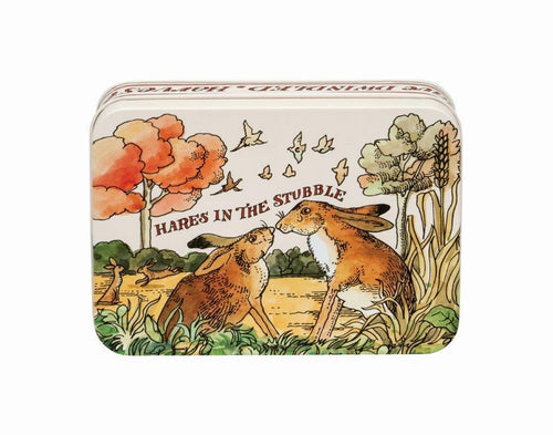 Emma Bridgewater In the Woods small rectangular tin - Daisy Park