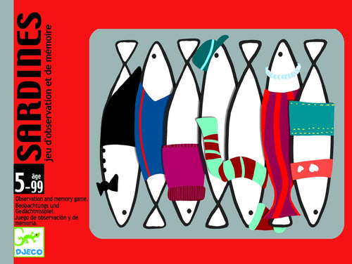 Djeco Playing Cards Sardines - Daisy Park