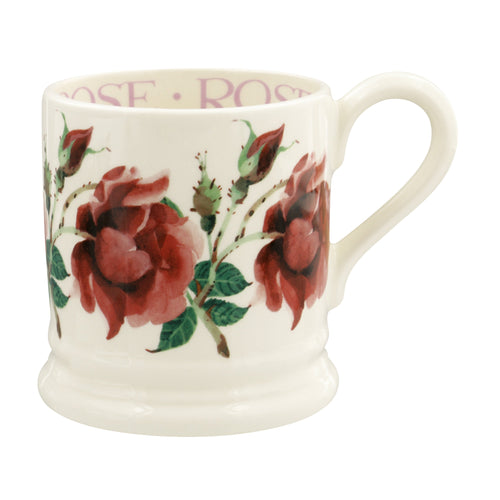 Emma Bridgewater Red Rose 1/2pt mug - Daisy Park