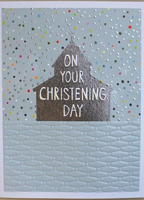 Christening Day Card - Daisy Park